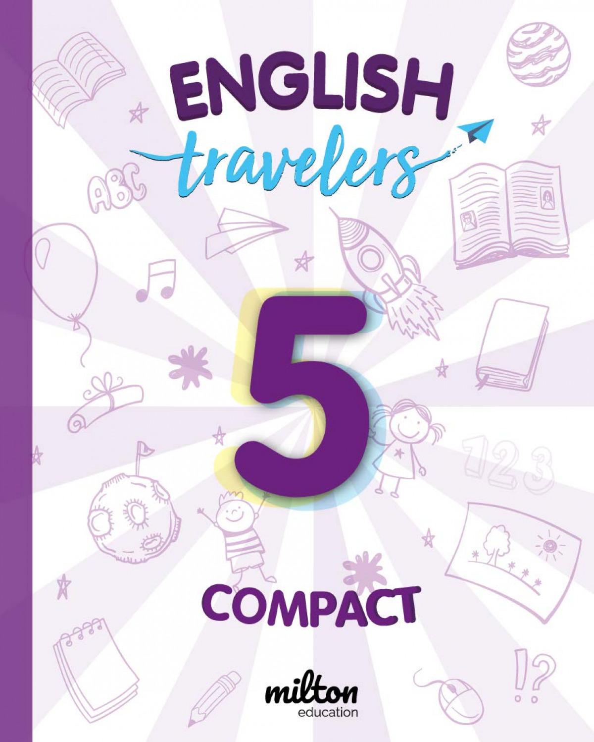 Travelers Red 5 - English Language 5 Primaria - Student Book Compact