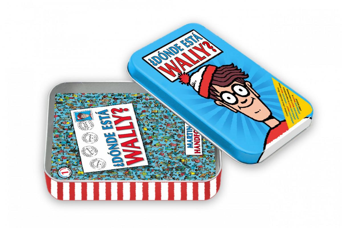 Â¿Dónde estÃí Wally? (Caja MetÃílica)
