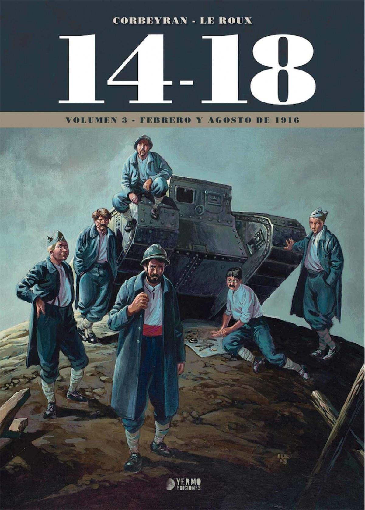 14-18 03: FEBRERO Y AGOSTO 1916