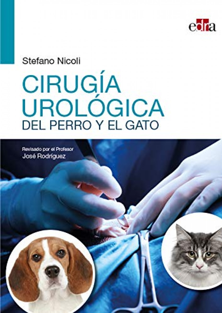 Cirugía urológica del perro y el gato