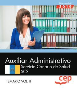 AUXILIAR ADMINISTRATIVO SERVICIO CANARIO DE SALUD