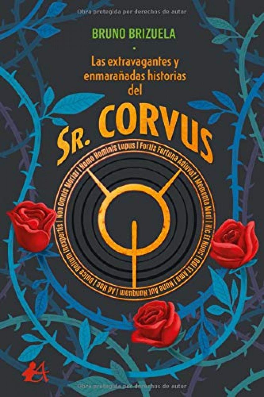 LAS EXTRAVAGANTES Y ENMARAÑADAS HISTORIAS DEL SR. CORVUS