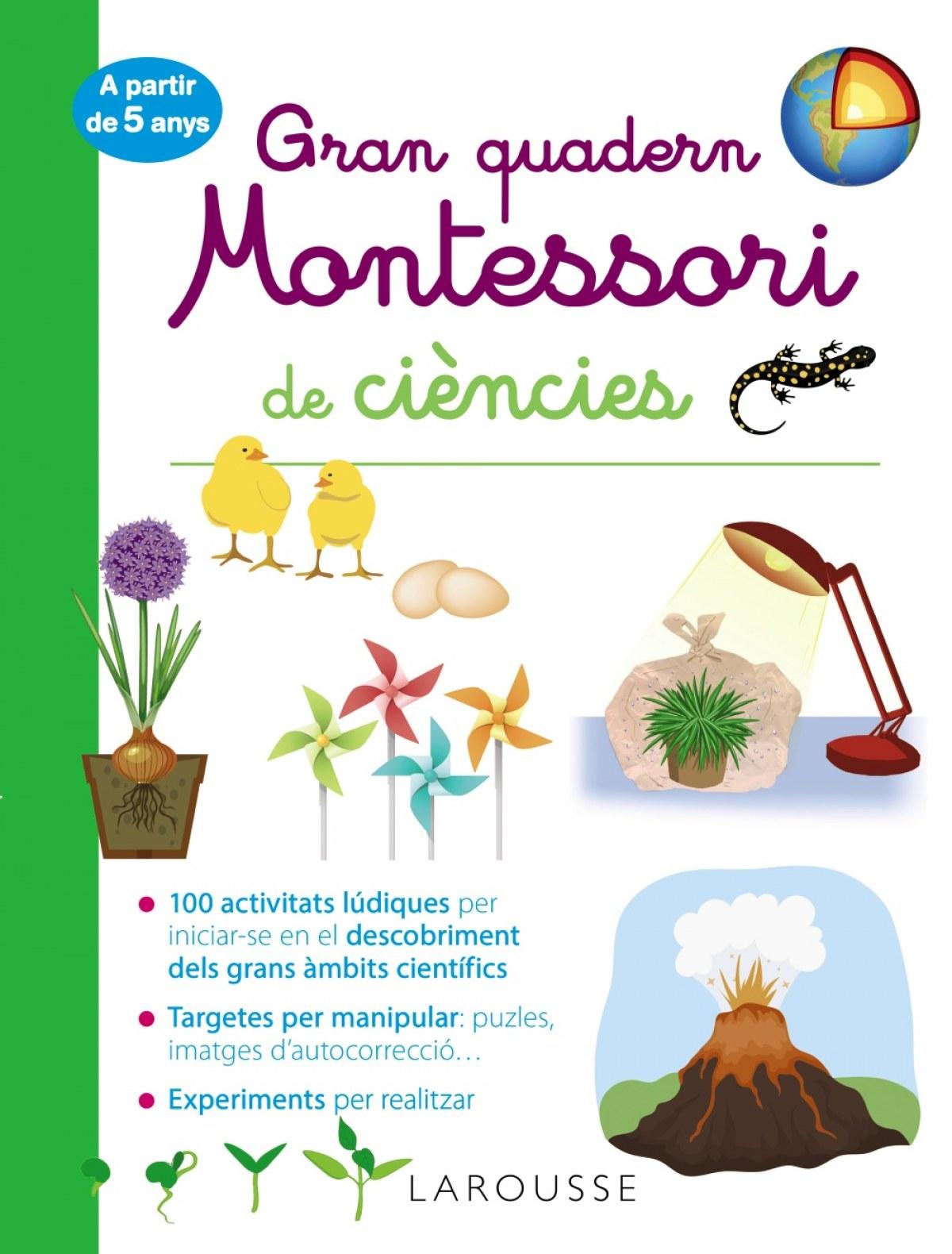 Gran quadern Montessori de ciències