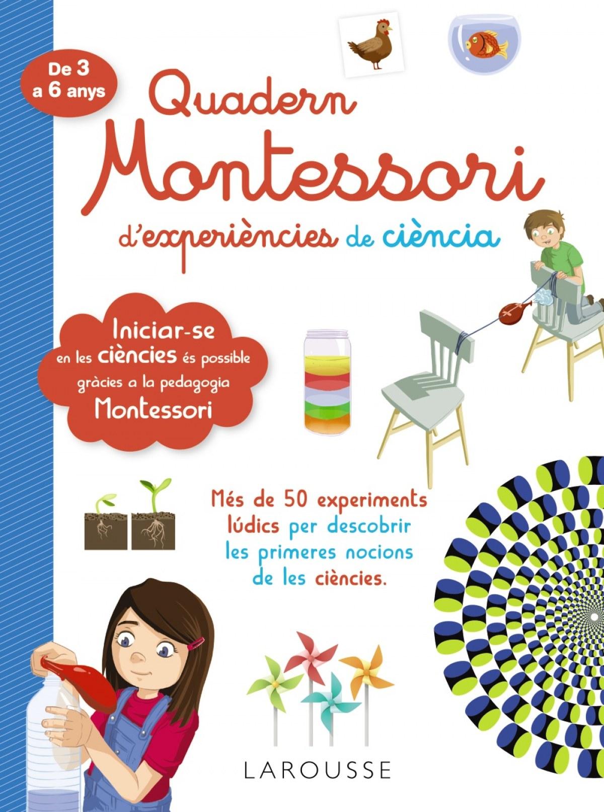 Quadern Montessori d'experiències de ciència