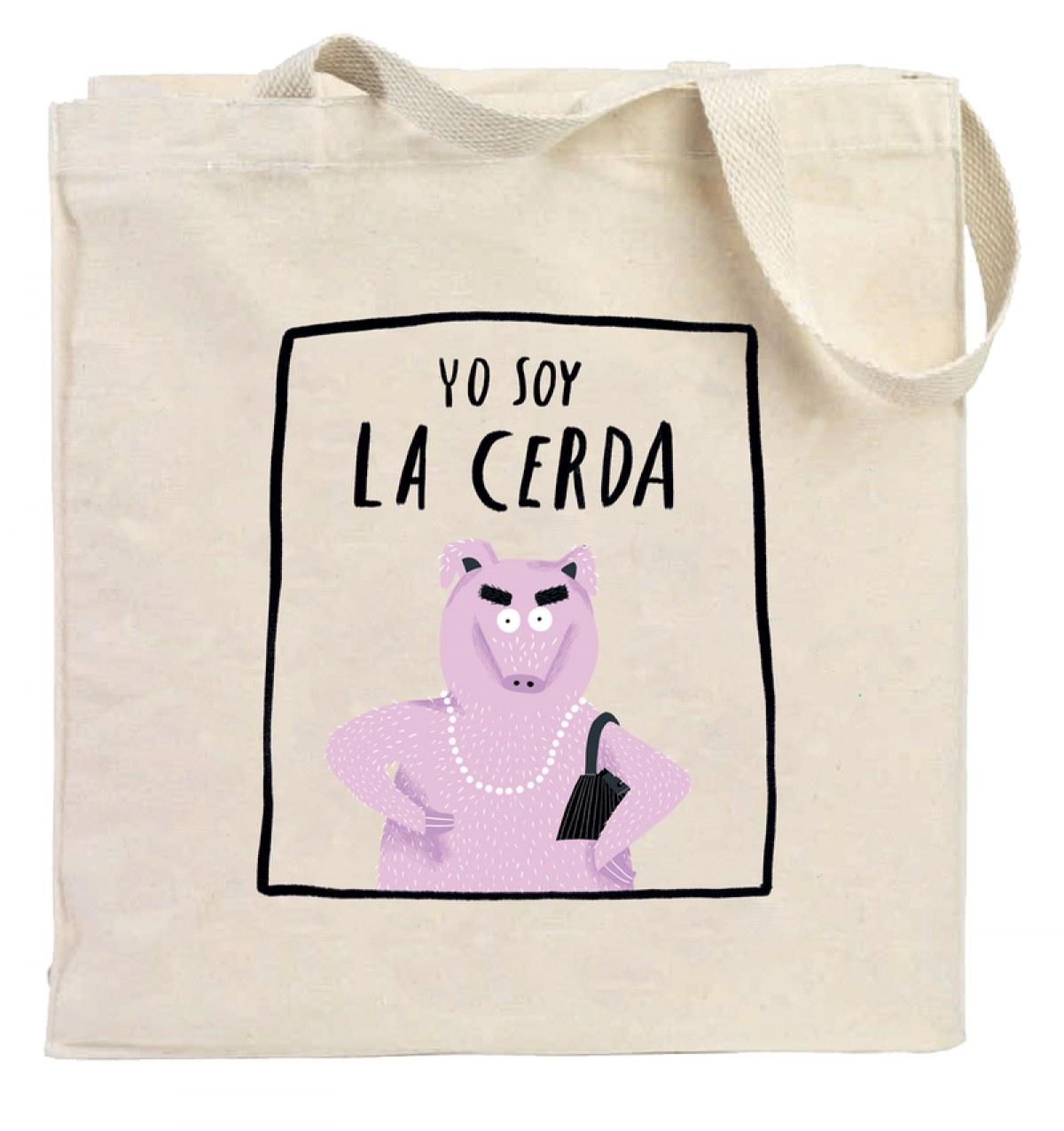 Bolsa 'Yo soy la cerda'