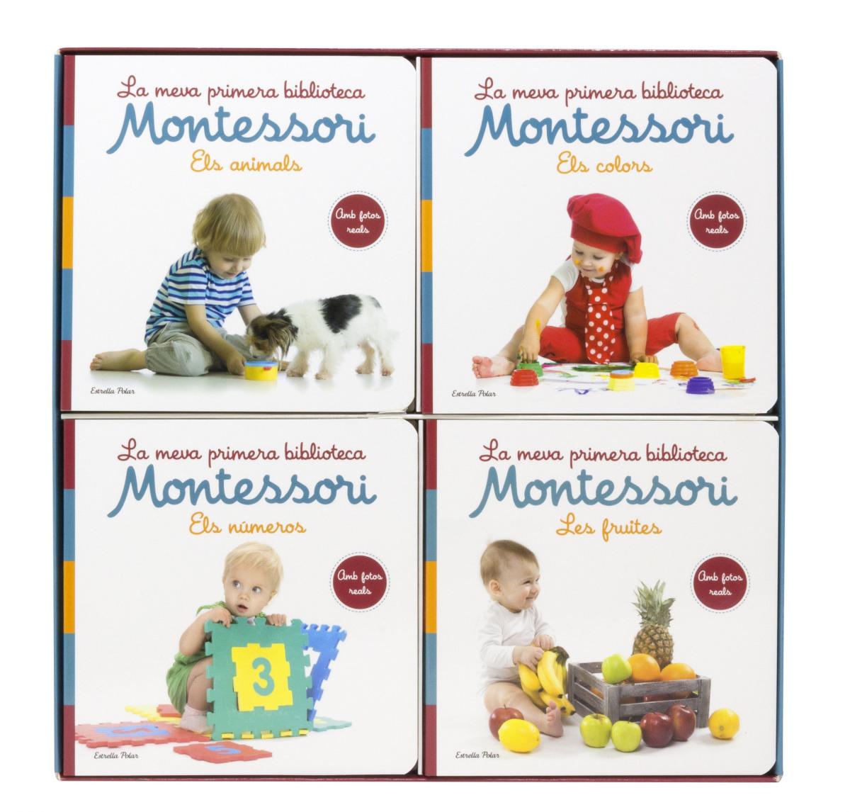 La meva primera biblioteca Montessori