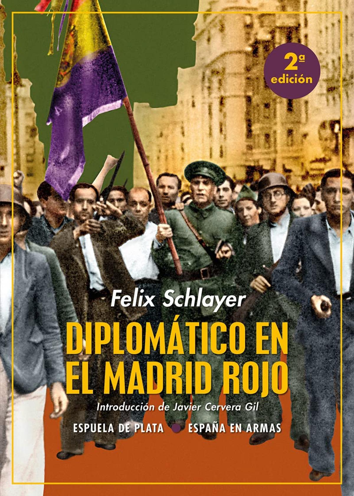 Diplomático en el Madrid rojo