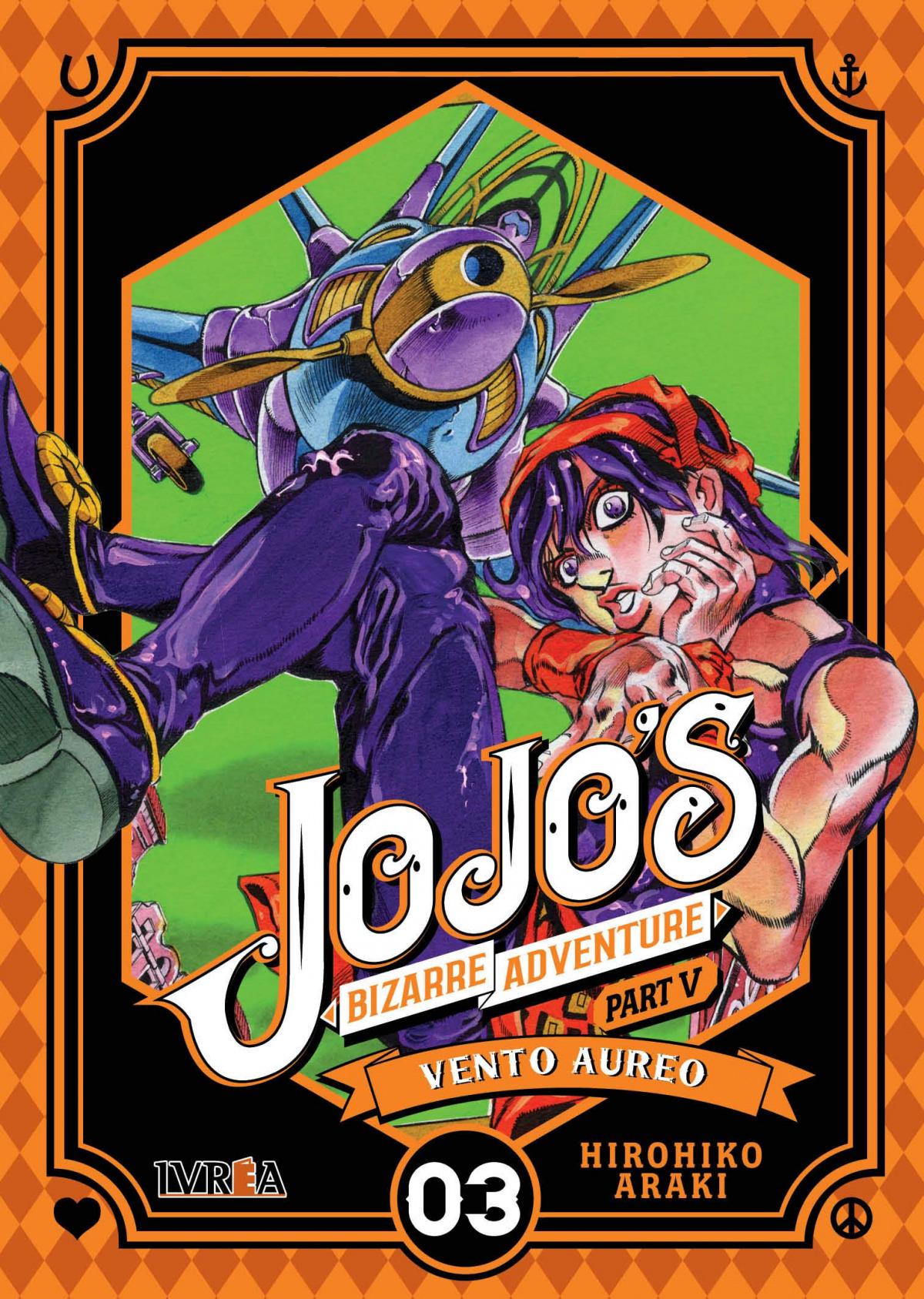 Jojo's Bizzarre Adventure Parte 5: Vento Aureo 3