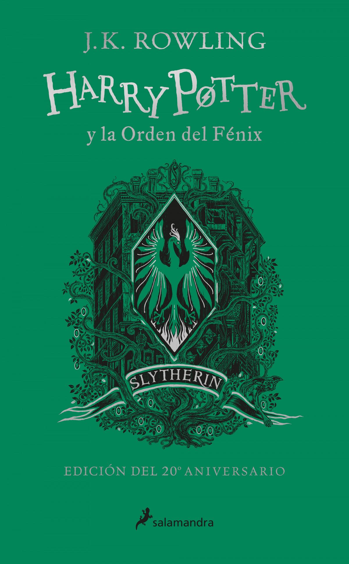 Harry Potter y la Orden del Fénix (edición Slytherin del 20º aniversario) (Harry Potter)