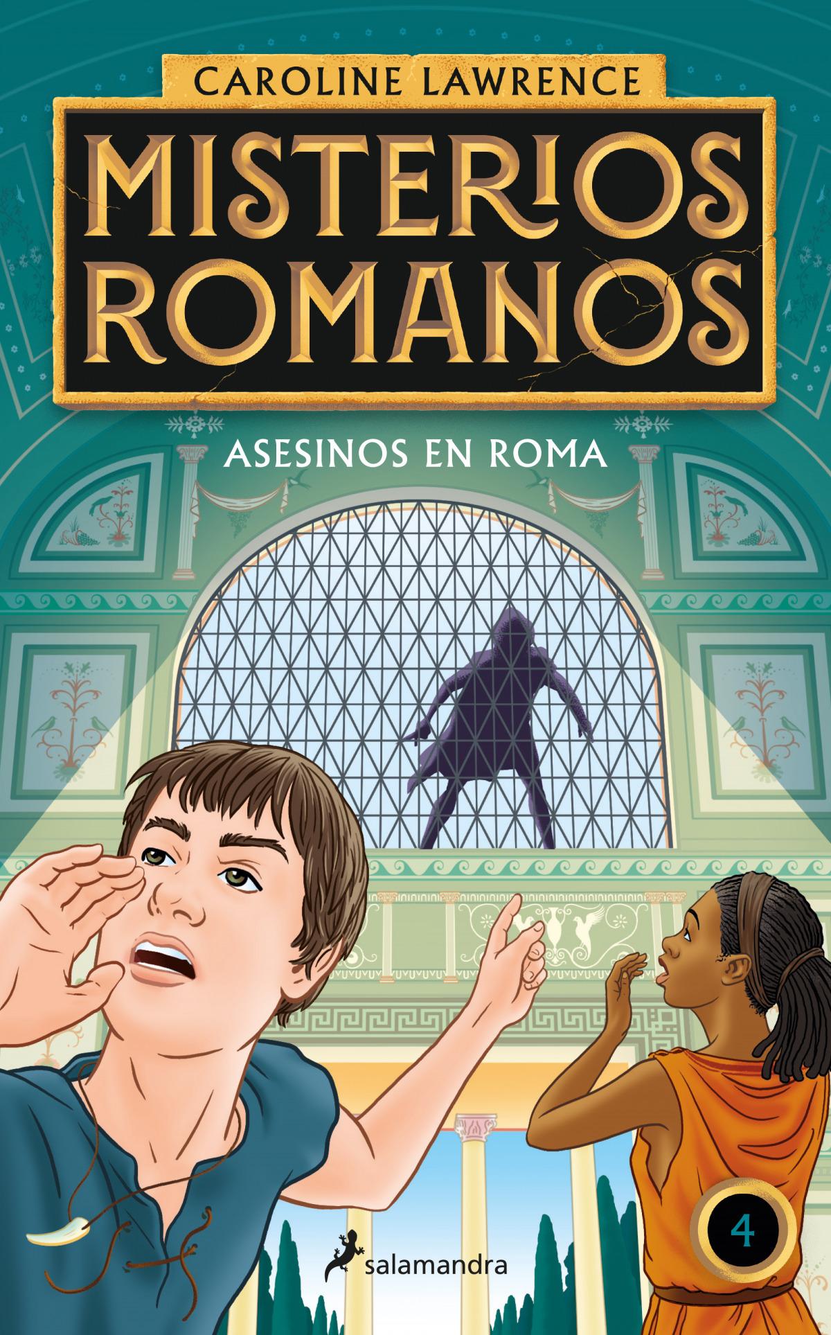 Asesinos en Roma (Misterios romanos 4)
