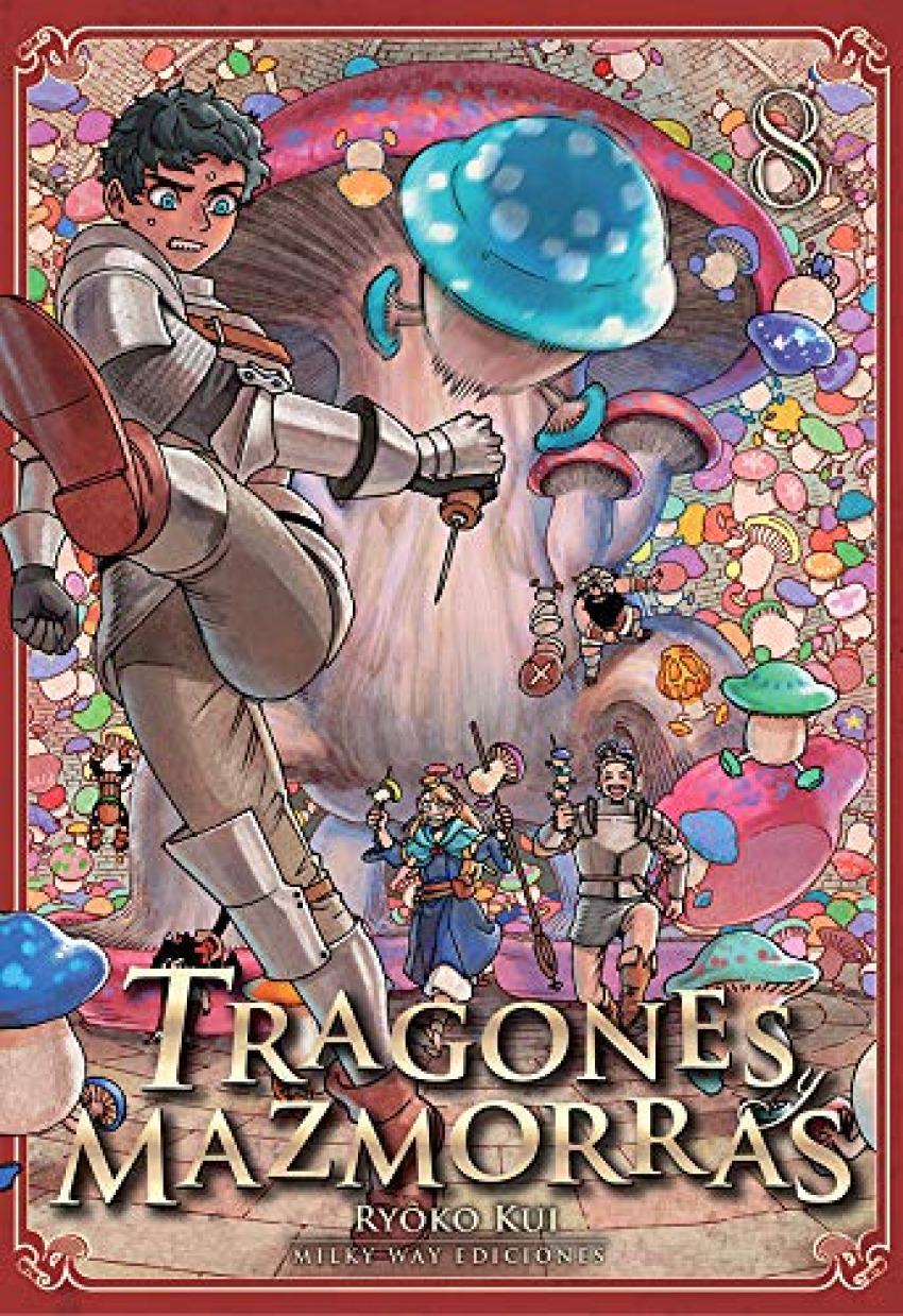TRAGONES Y MAZMORRAS 8