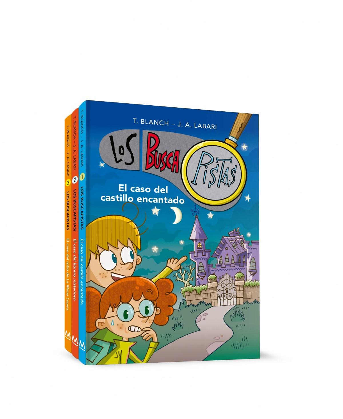 Pack Los BuscaPistas: El caso del castillo encantado , El caso de