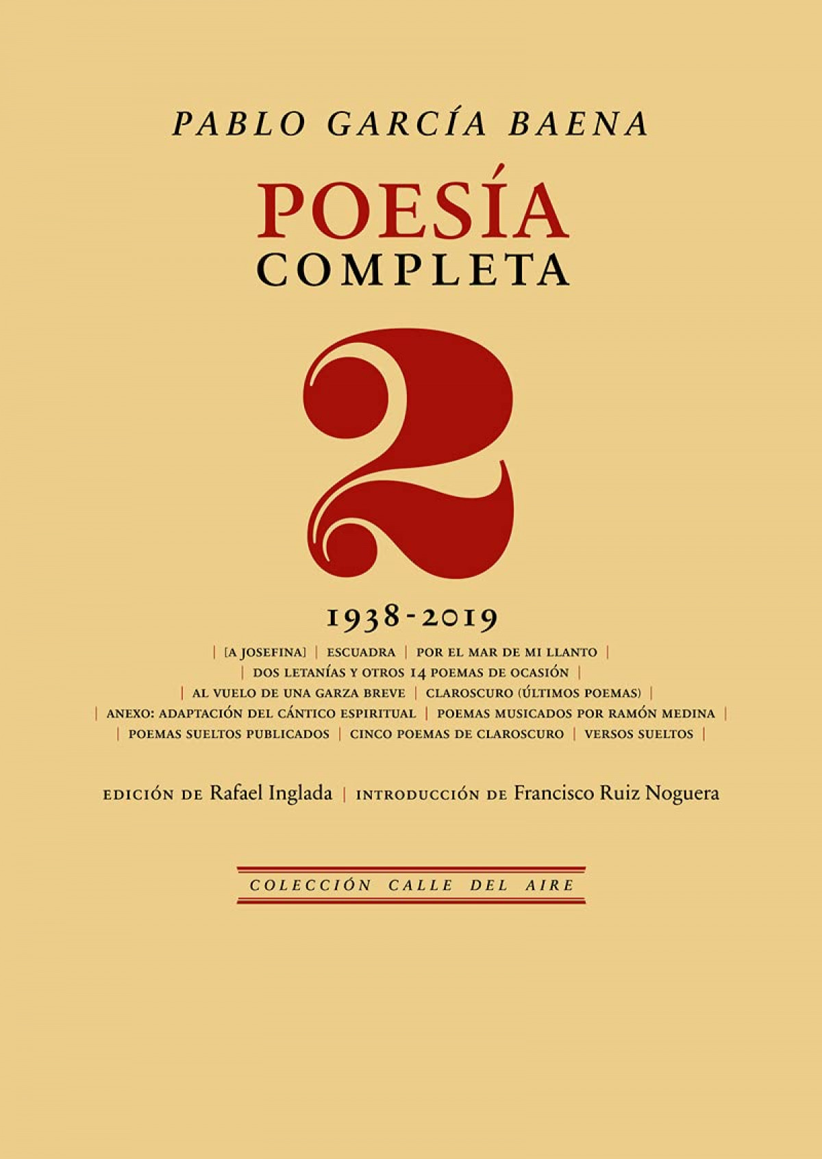 Poesía completa, 2