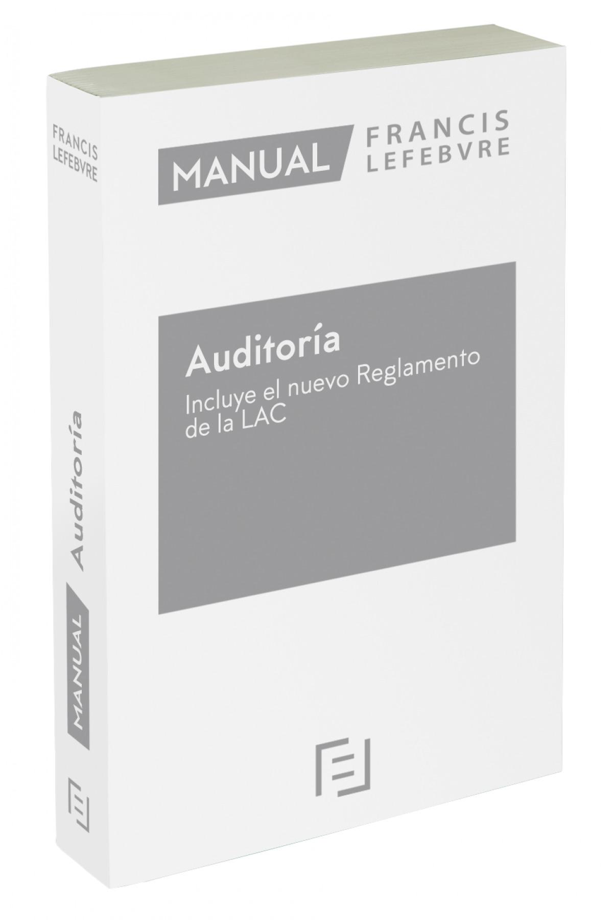 Manual de Auditoría ? Incluye el nuevo Reglamento de la LAC 2021