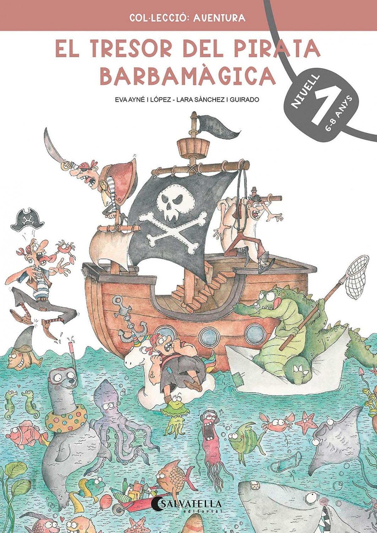 El tresor del pirata Barbamàgica 1