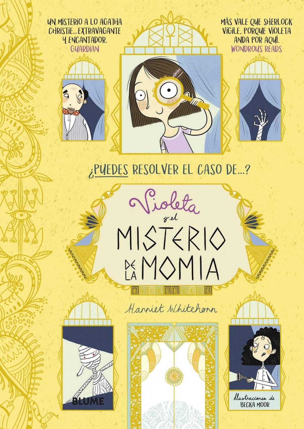 Violeta y el misterio de la momia