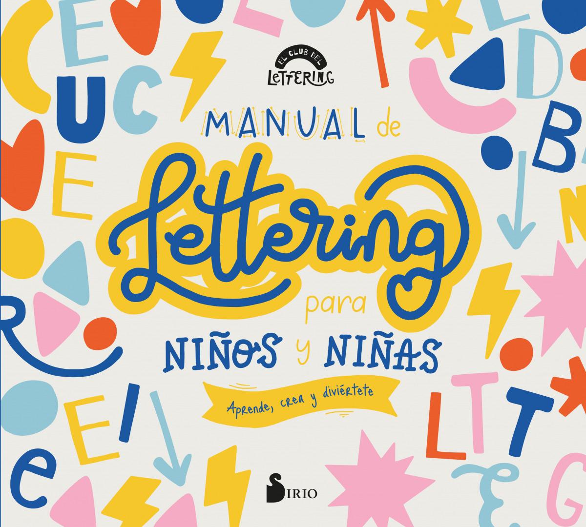 Manual de lettering para niños y niñas