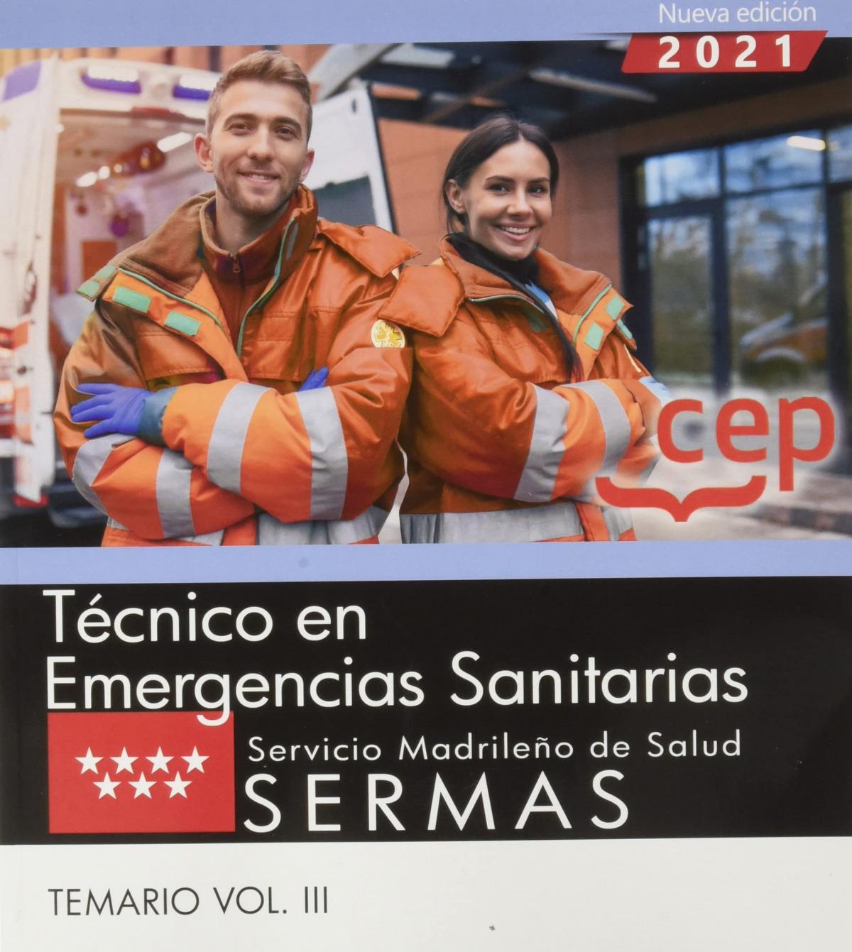 TÈCNICO EN EMERGENCIAS SANITARIAS.SERMAS.(TEMARIO VOL.II)