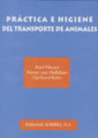 PRÁCTICA E HIGIENE DEL TRANSPORTE DE ANIMALES