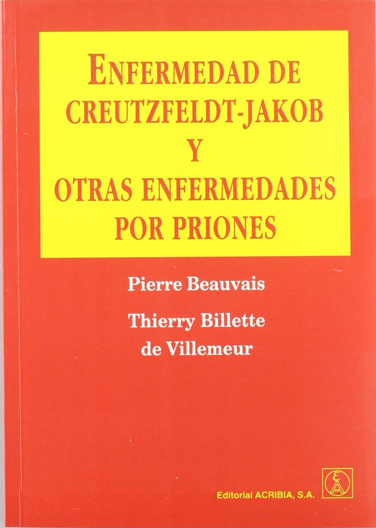 ENFERMEDAD DE CREUTZFELDT-JAKOB/OTRAS ENFERMEDADES POR PRIONES