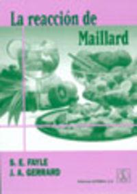 LA REACCIÓN DE MAILLARD
