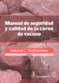 MANUAL DE SEGURIDAD/CALIDAD DE LA CARNE DE VACUNO