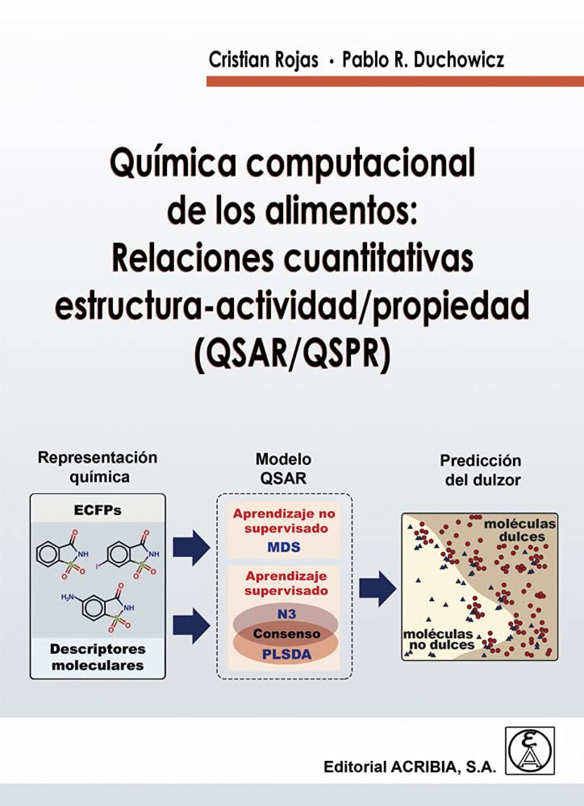 Química computacional de los alimentos: relaciones cuantitativas estructura-acti