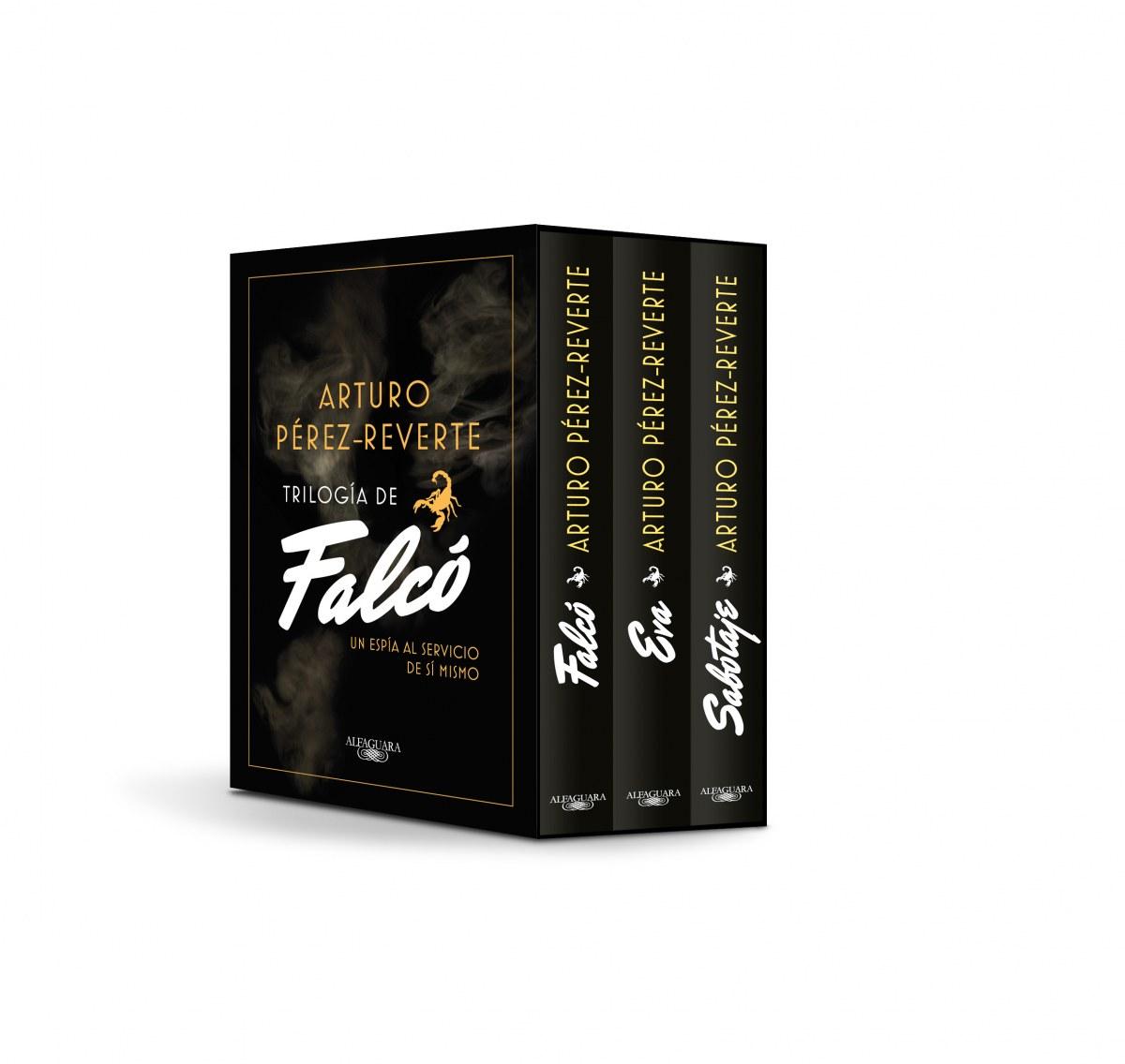 TRILOGÍA DE FALCÓ. Falcó / Eva / Sabotaje (ESTUCHE)