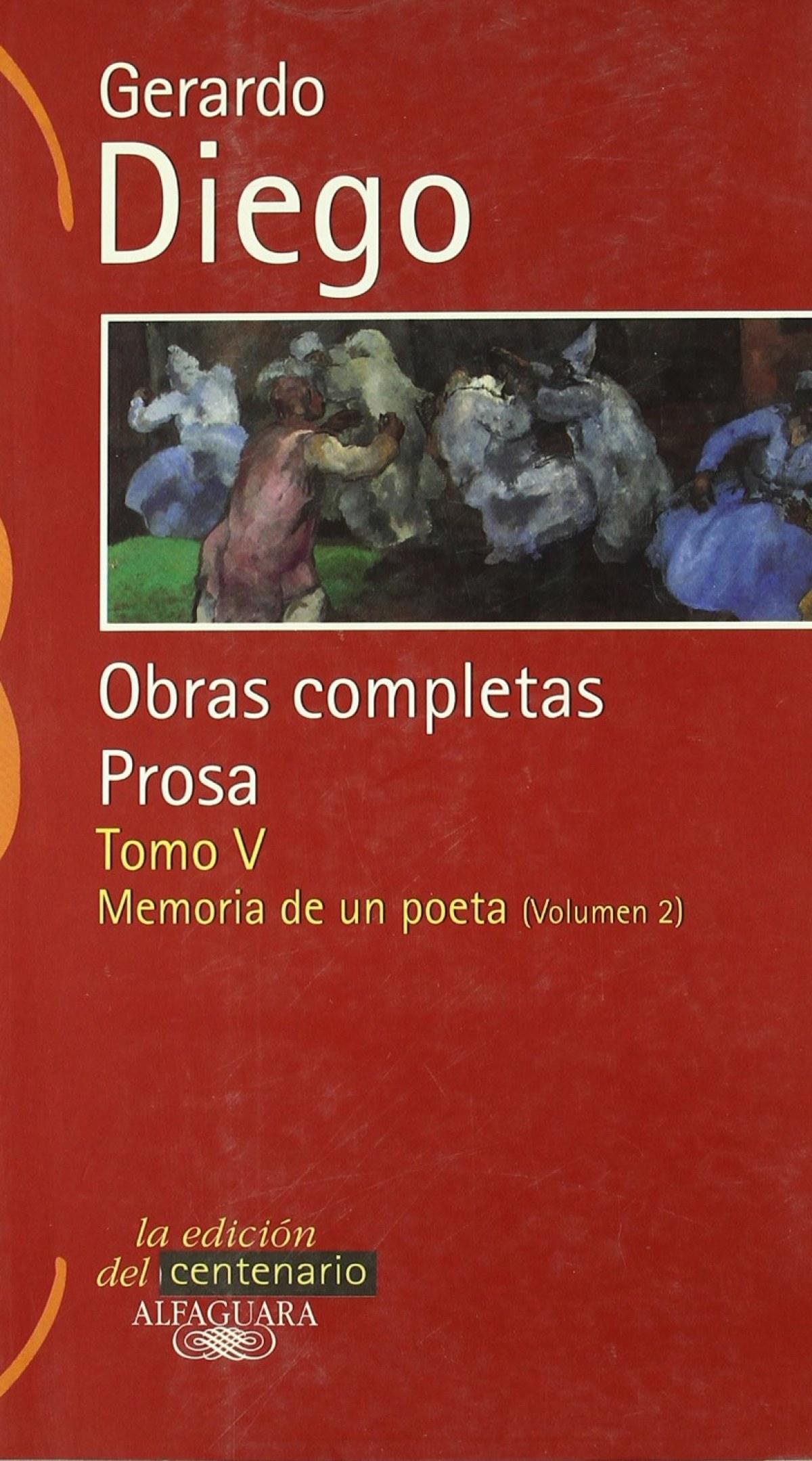 Obras completas prosa Gerardo Diego