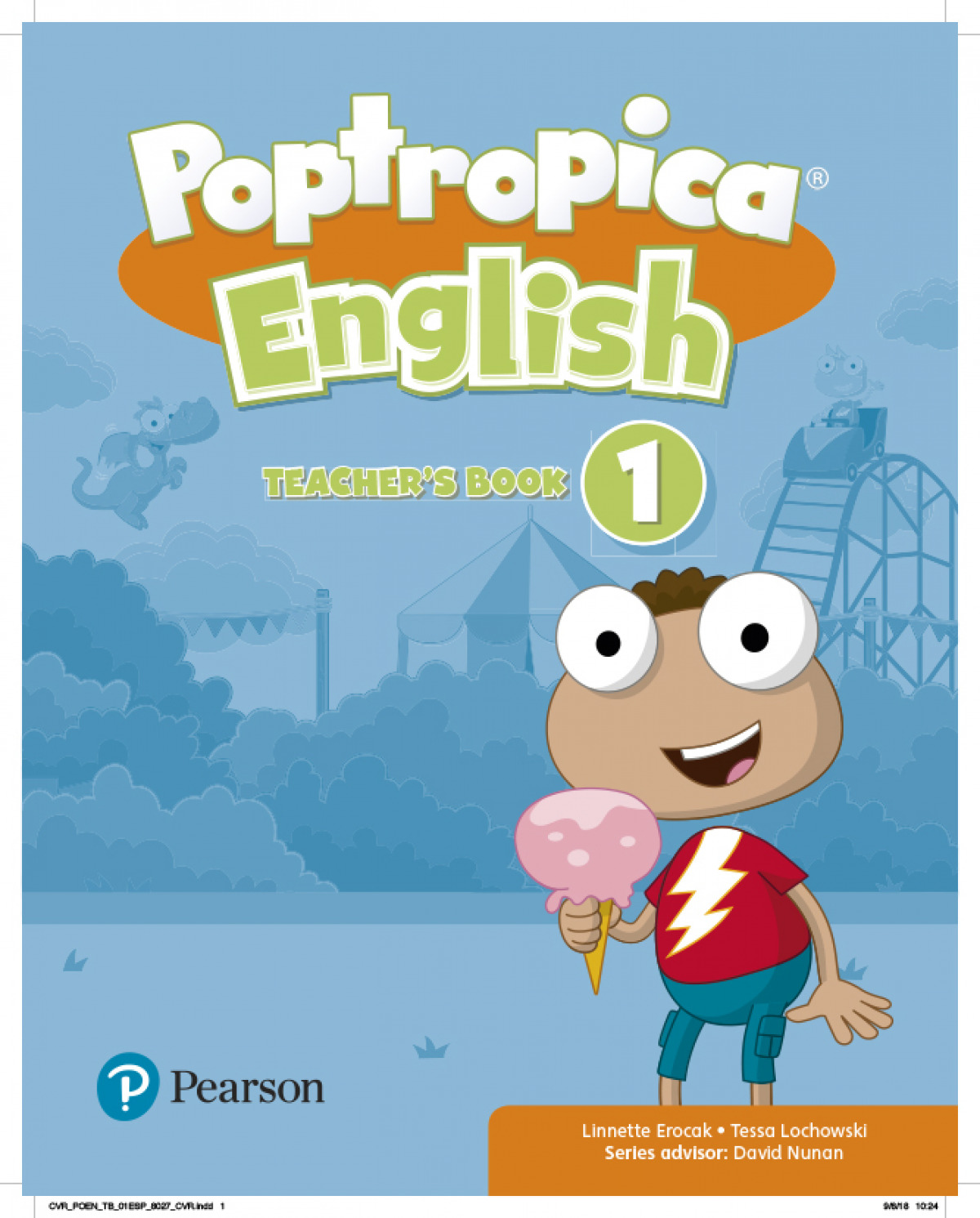 POPTROPICA ENGLISH 1 TB + 2 CODES