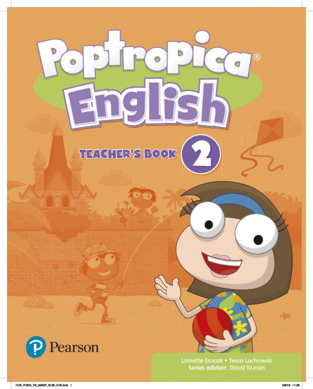 POPTROPICA ENGLISH 2 TB + 2 CODES
