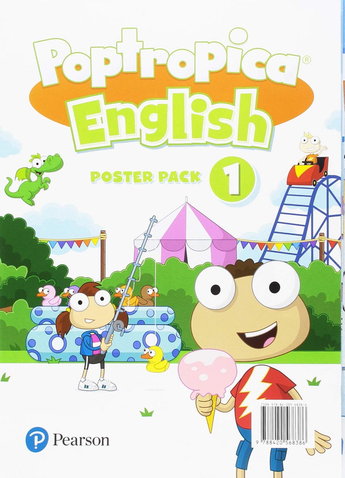 POPTROPICA ENGLISH 1 POSTERS