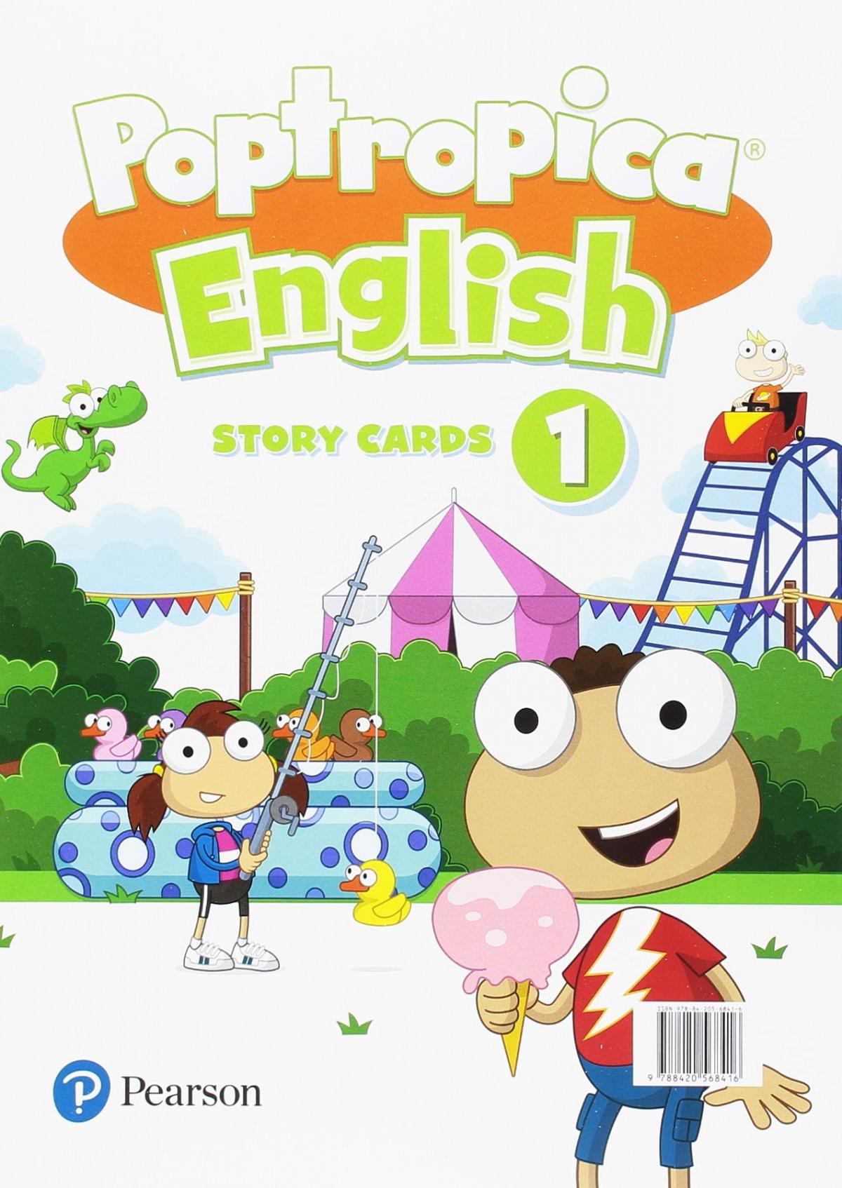 POPTROPICA ENGLISH 1 STORY CARDS