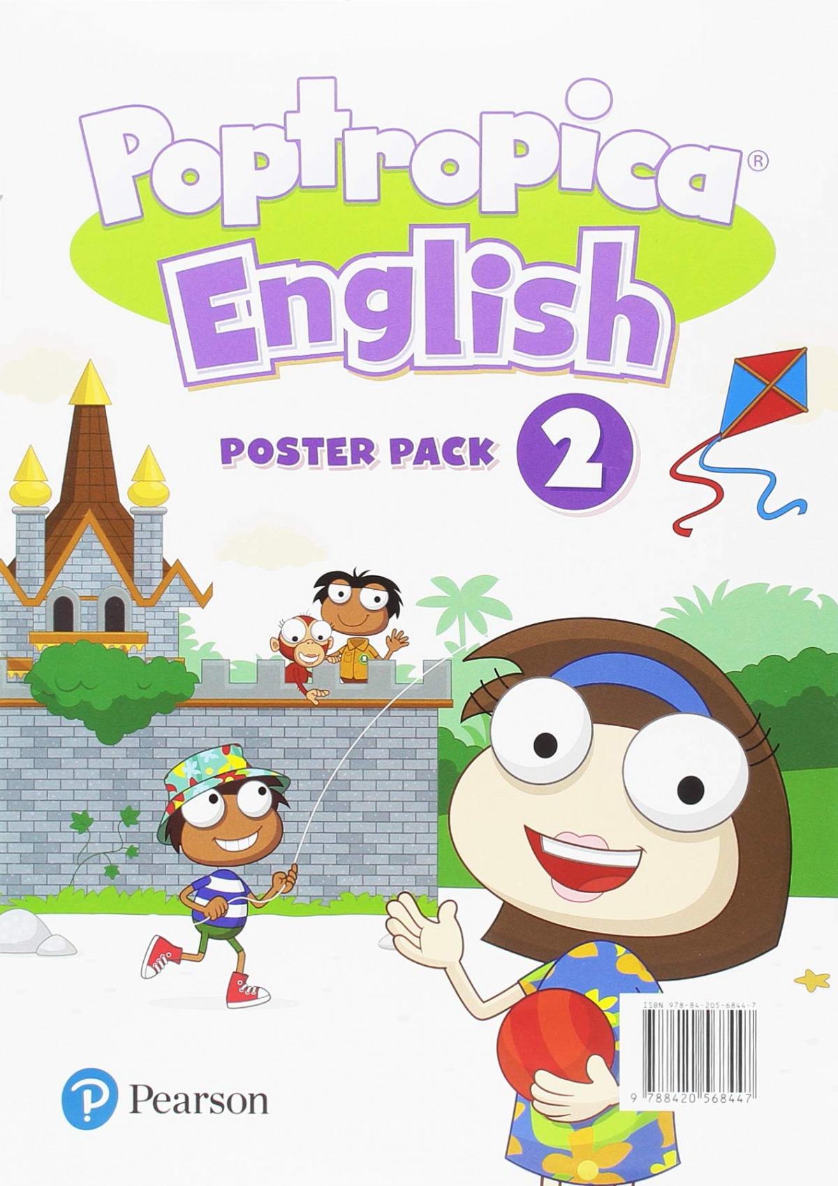 POPTROPICA ENGLISH 2 POSTERS
