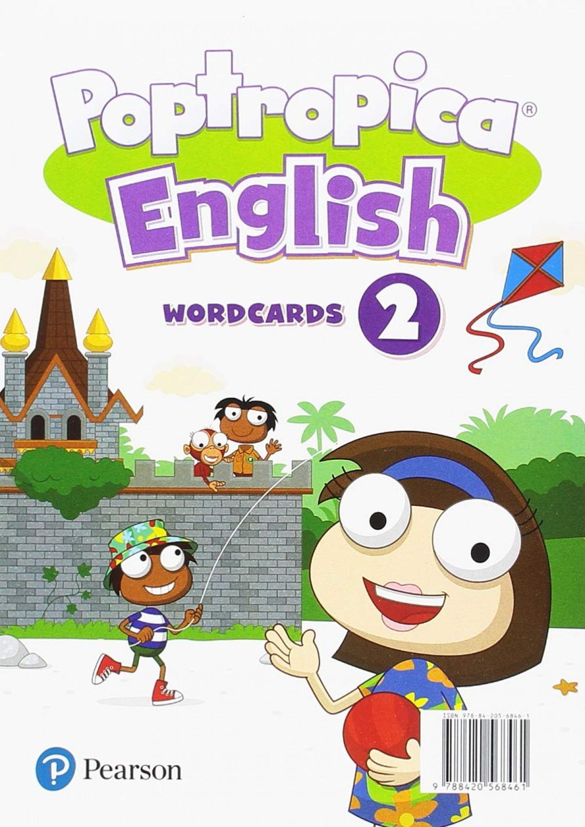 POPTROPICA ENGLISH 2 WORDCARDS