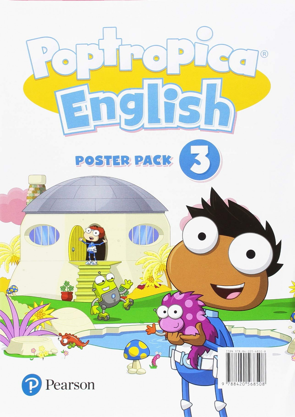 POPTROPICA ENGLISH 3 POSTERS
