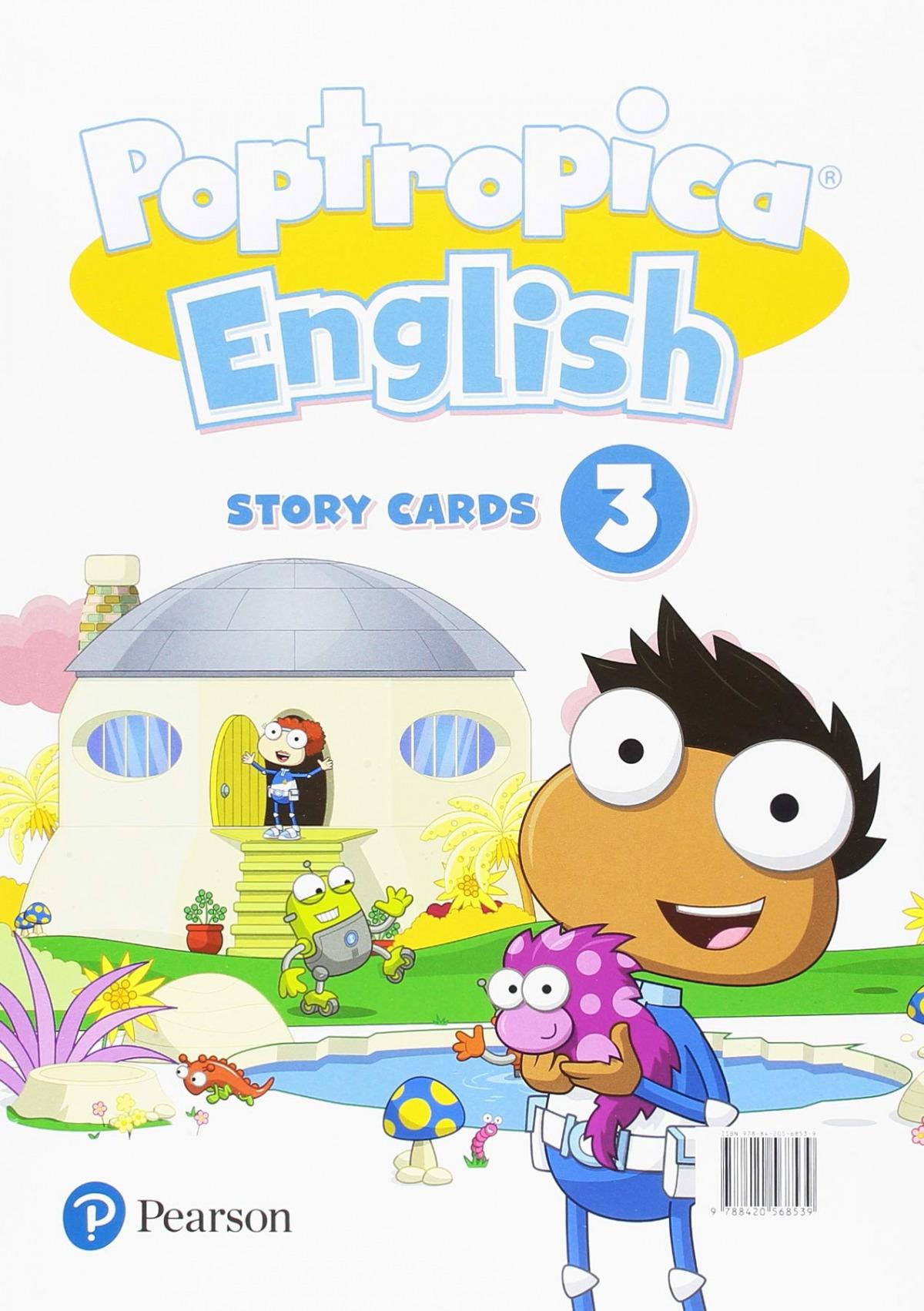 POPTROPICA ENGLISH 3 STORY CARDS