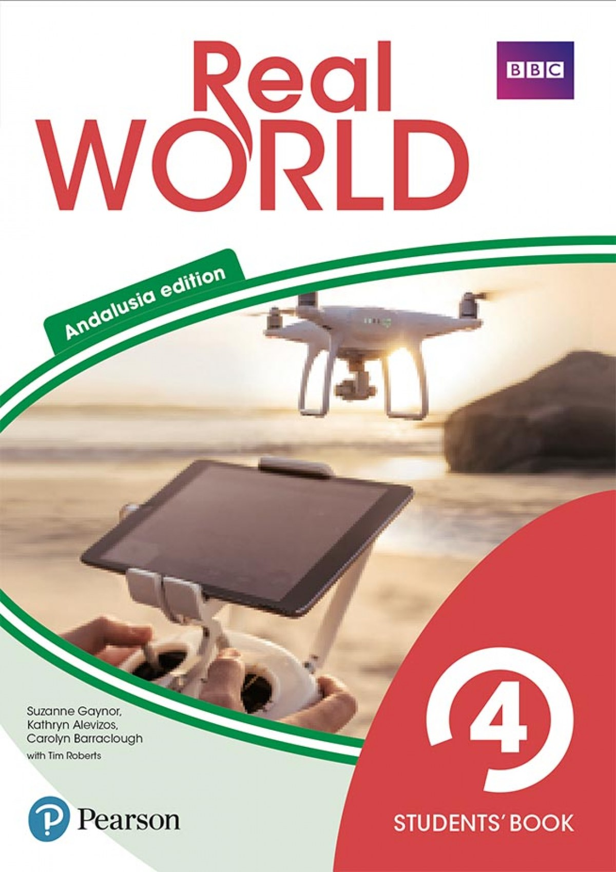 Real World 4 Students' Book with Online Area (Andalusia)