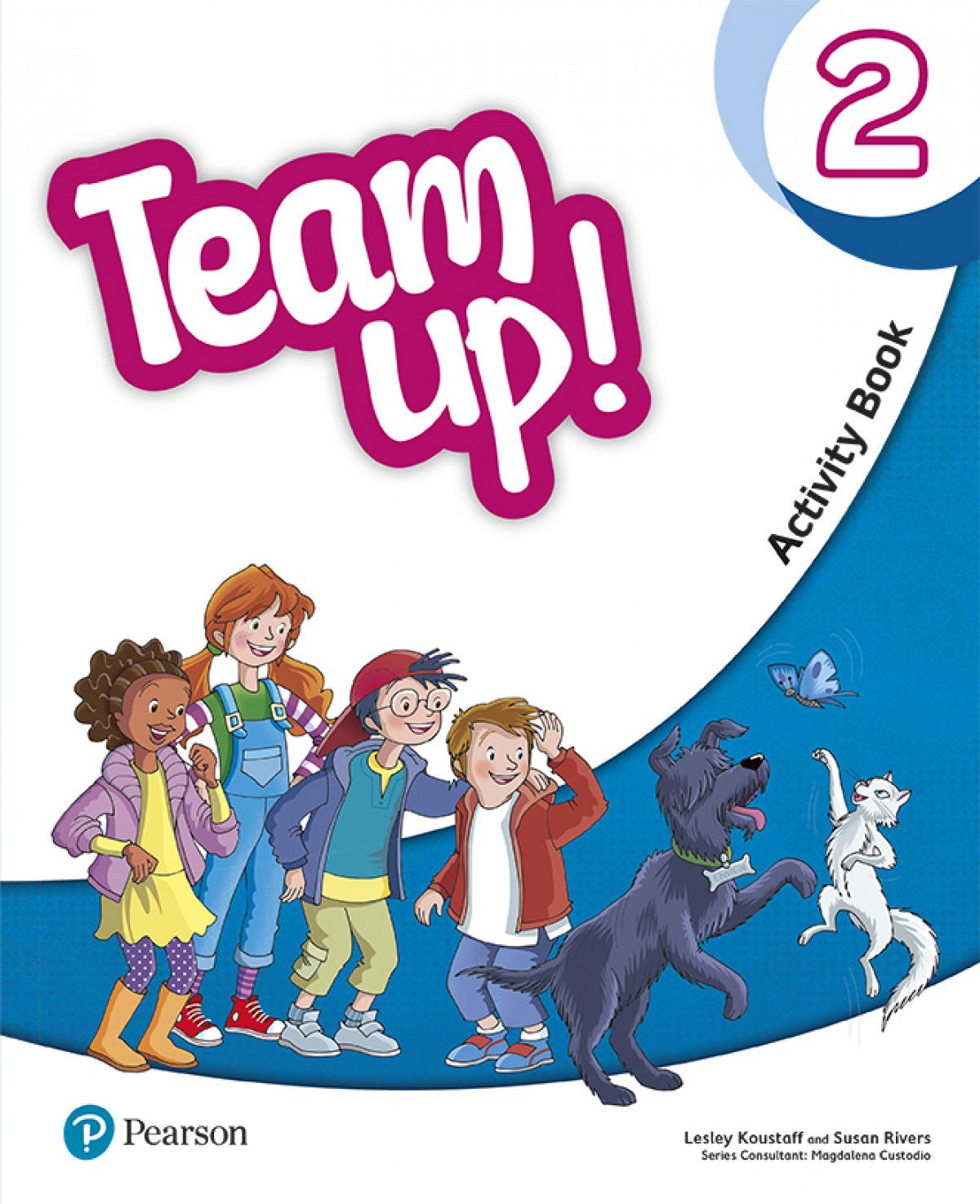 Team Up! 2 Activity Book Print