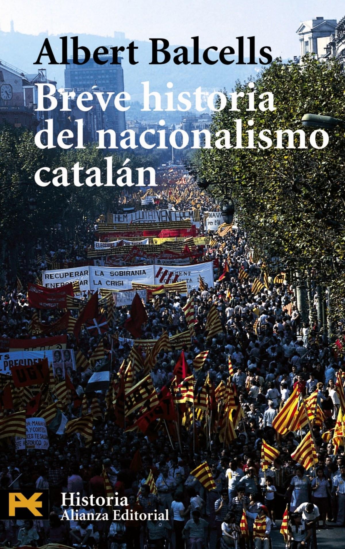 Breve historia del nacionalismo catalan 9788420656434
