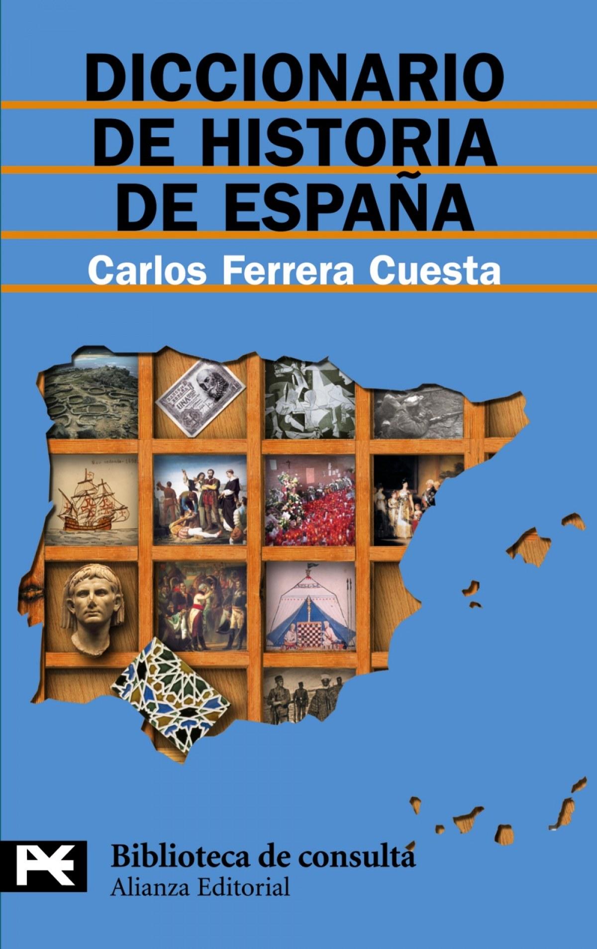 Diccionario historia españa 9788420658988