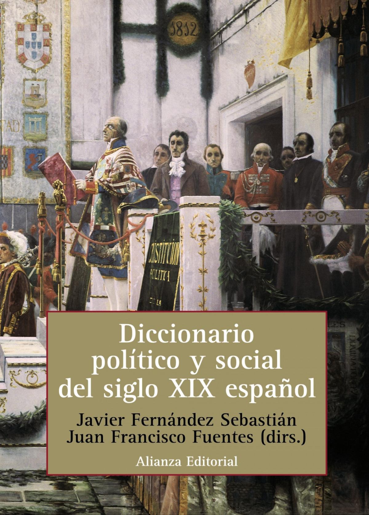 Diccionario politico social siglo xix español 9788420686035