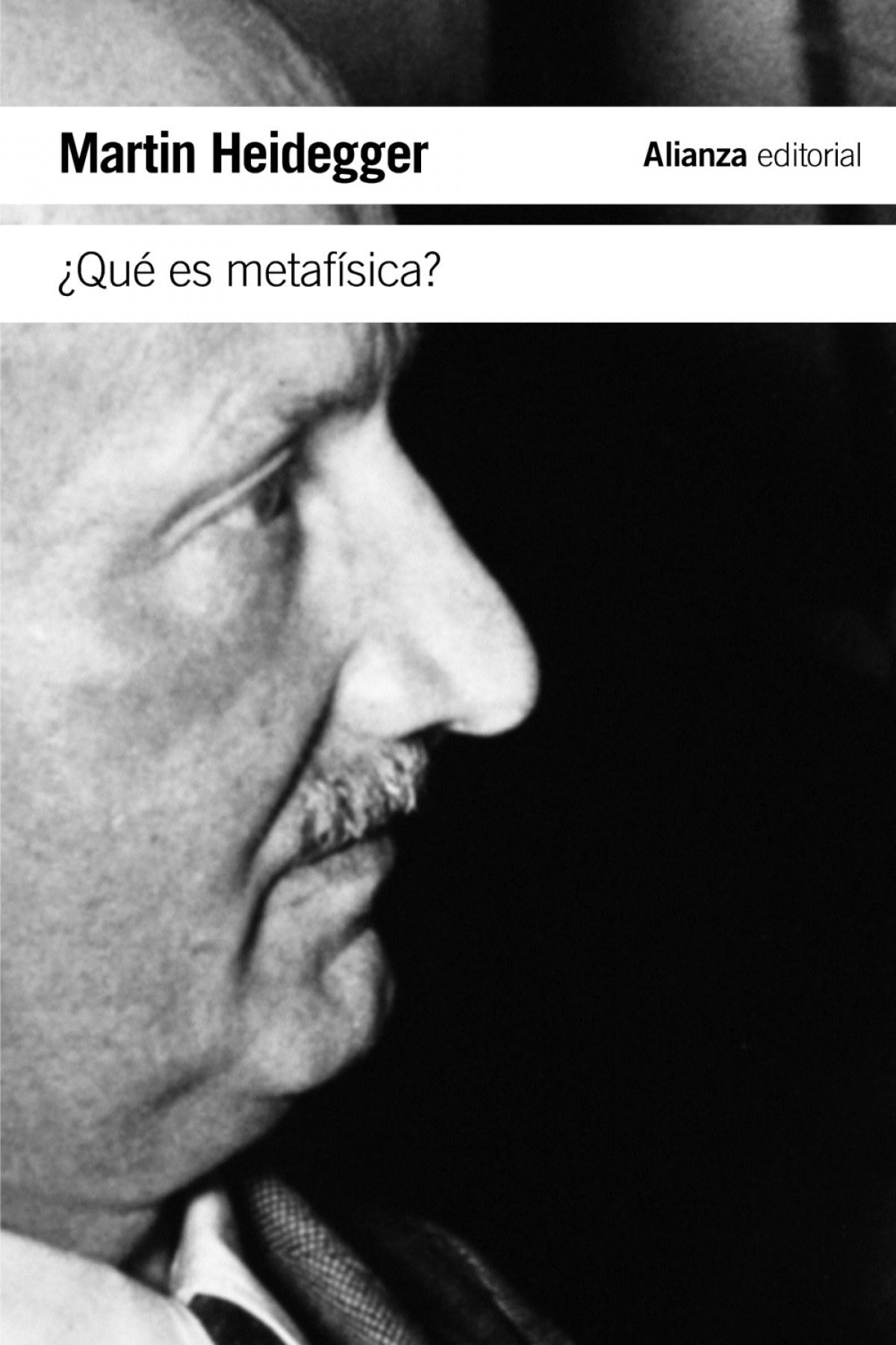 ¿Que es metafísica?