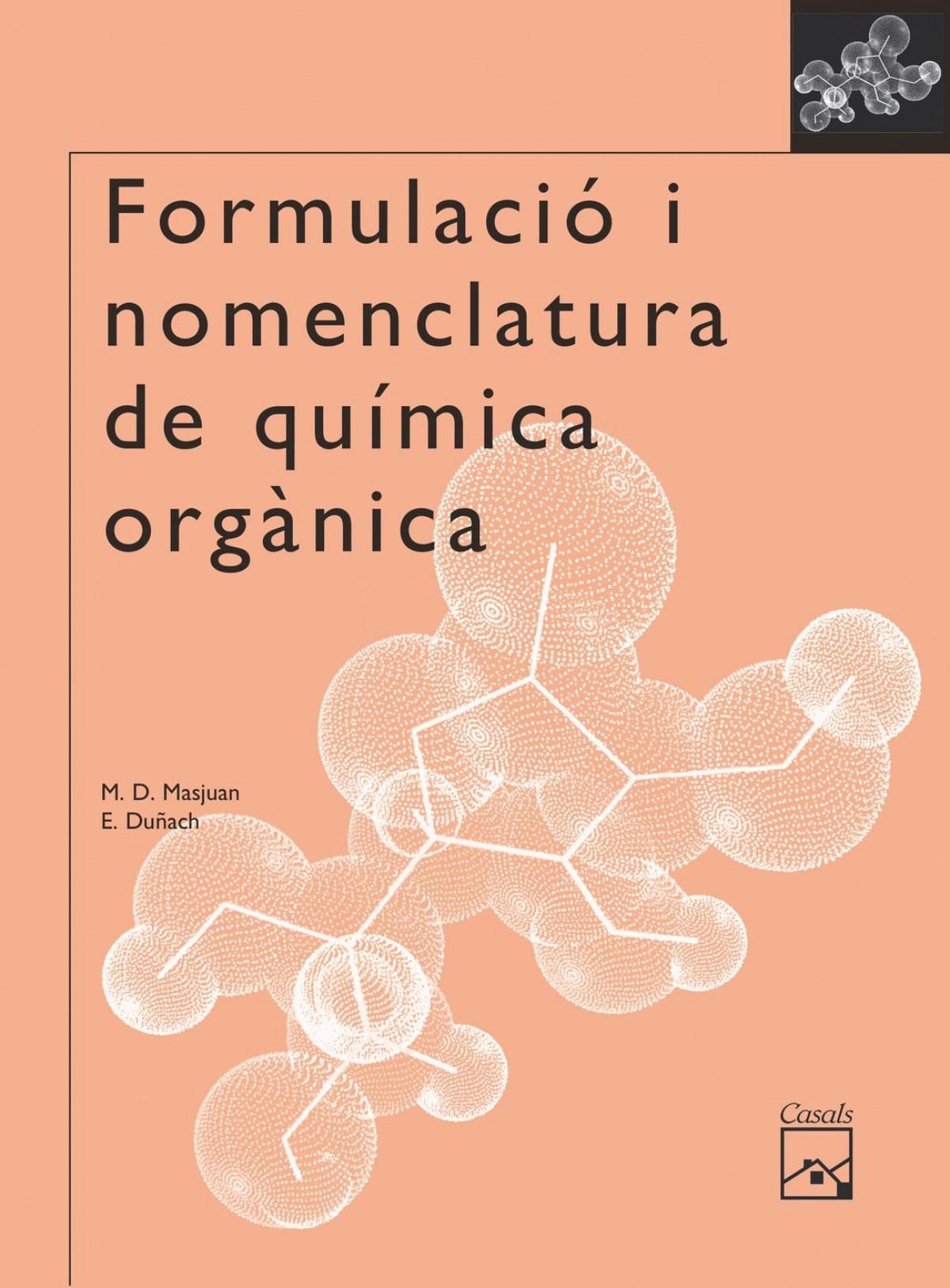 Formulació i nomenclatura química orgánica Batxillerat