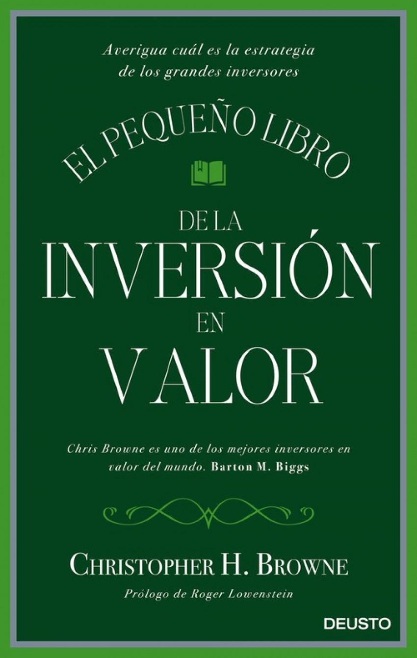 EL PEQUEÑO LIBRO DE LA INVERSION EN VALOR