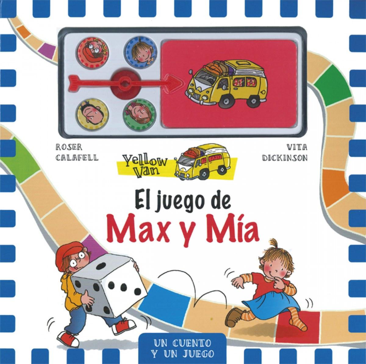 YELLOW VAN. EL JUEGO DE MAX Y MIA
