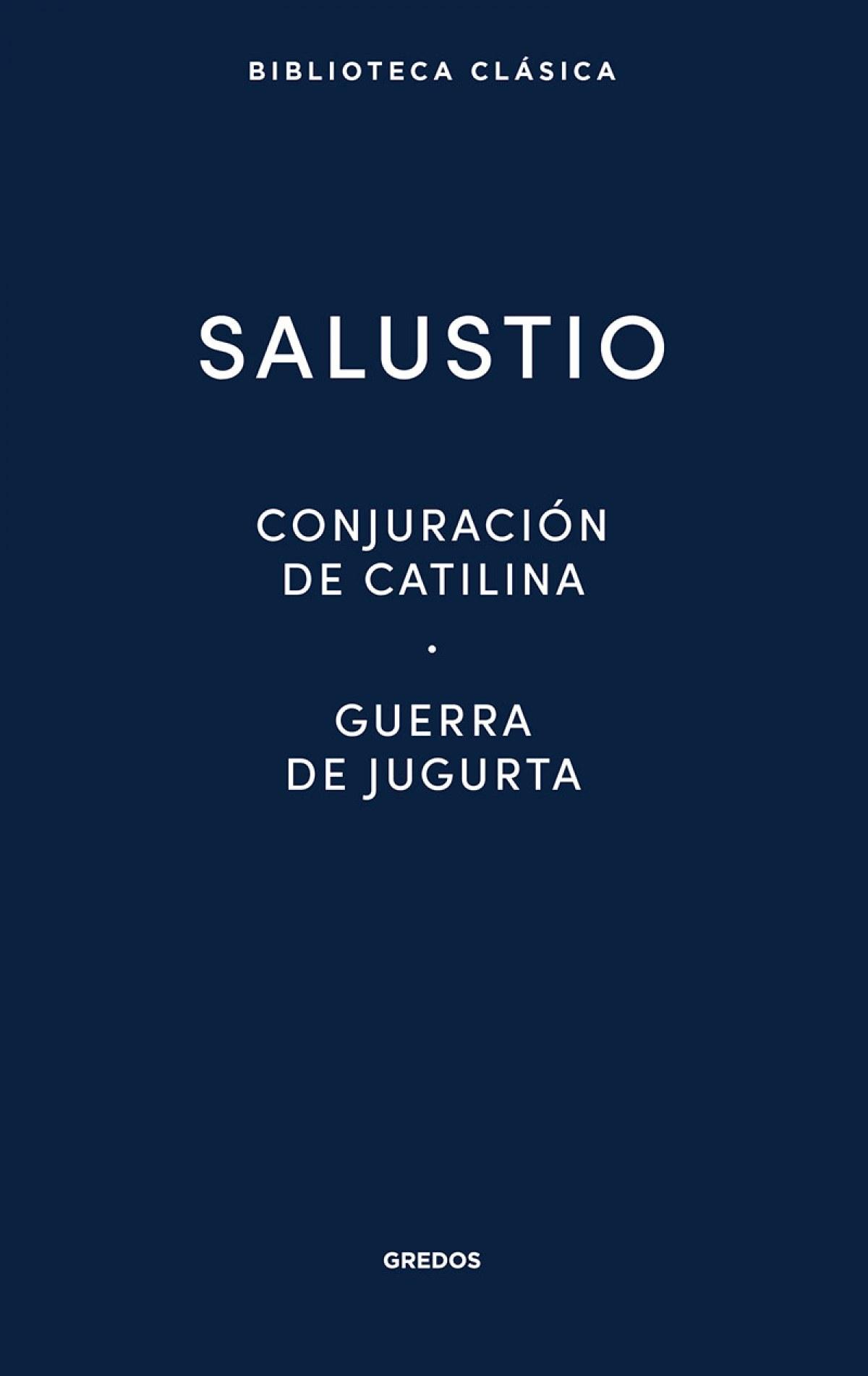CONJURACIÓN DE CATILINA · GUERRA DE JUGURTA