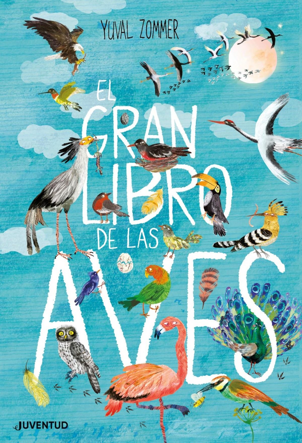 EL GRAN LIBRO DE LAS AVES 9788426145833