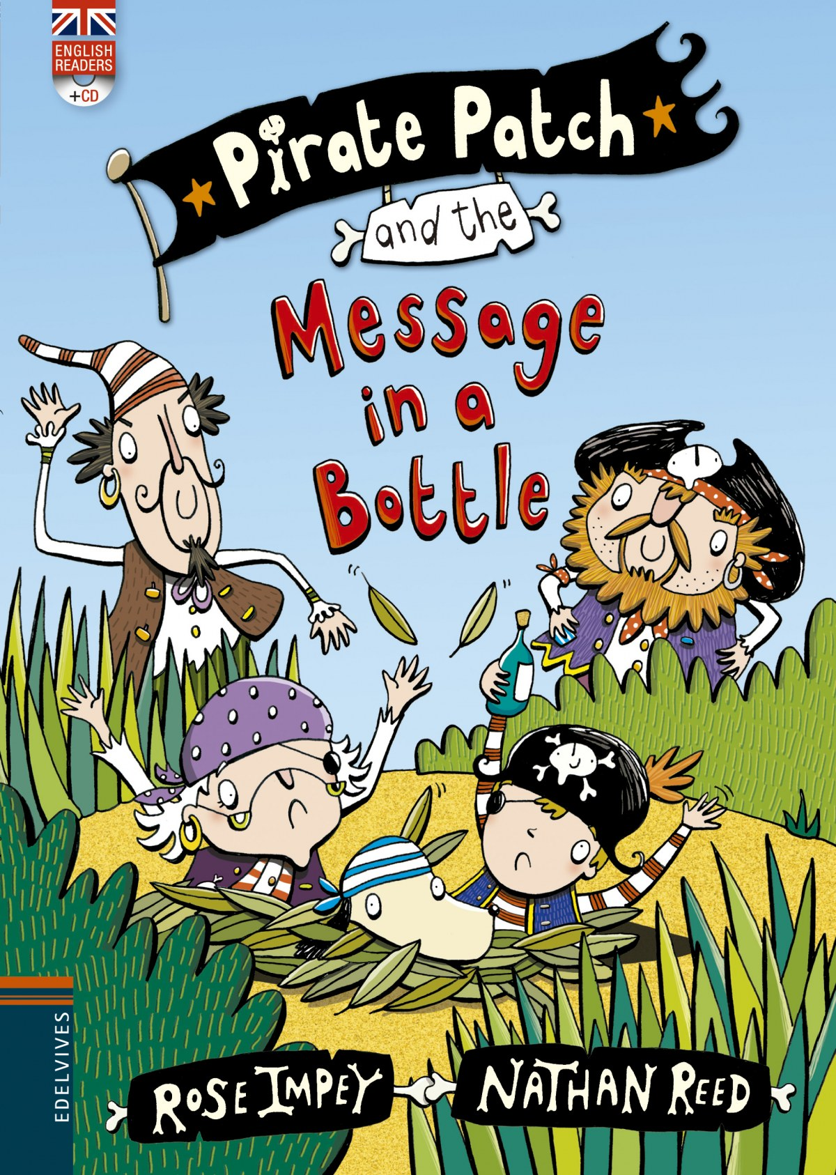 Pirate Patch and the message in a Bottle 9788426398383