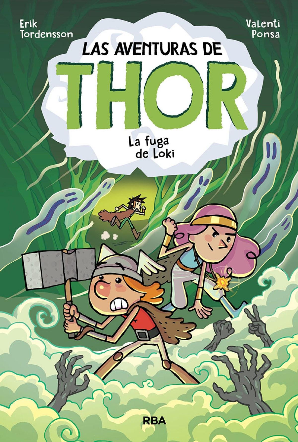 Las aventuras de Thor 2. La fuga de Loki
